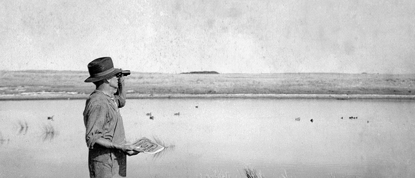 Fred Sharp, le premier naturaliste de CIC, a recruté les frères Michelson dans les rangs des Keemen bénévoles de CIC.