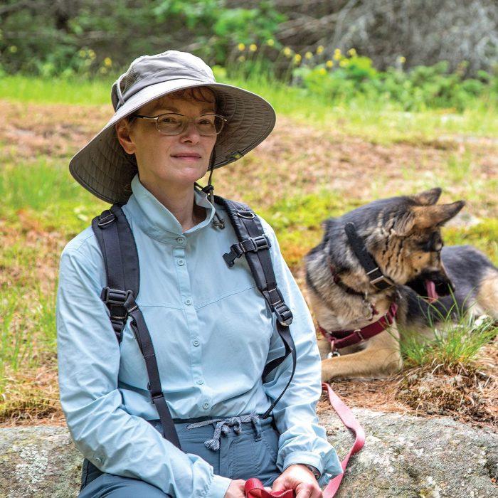 Janet Mason est le fer de lance des efforts consacrés à la protection des collines de Carp.
