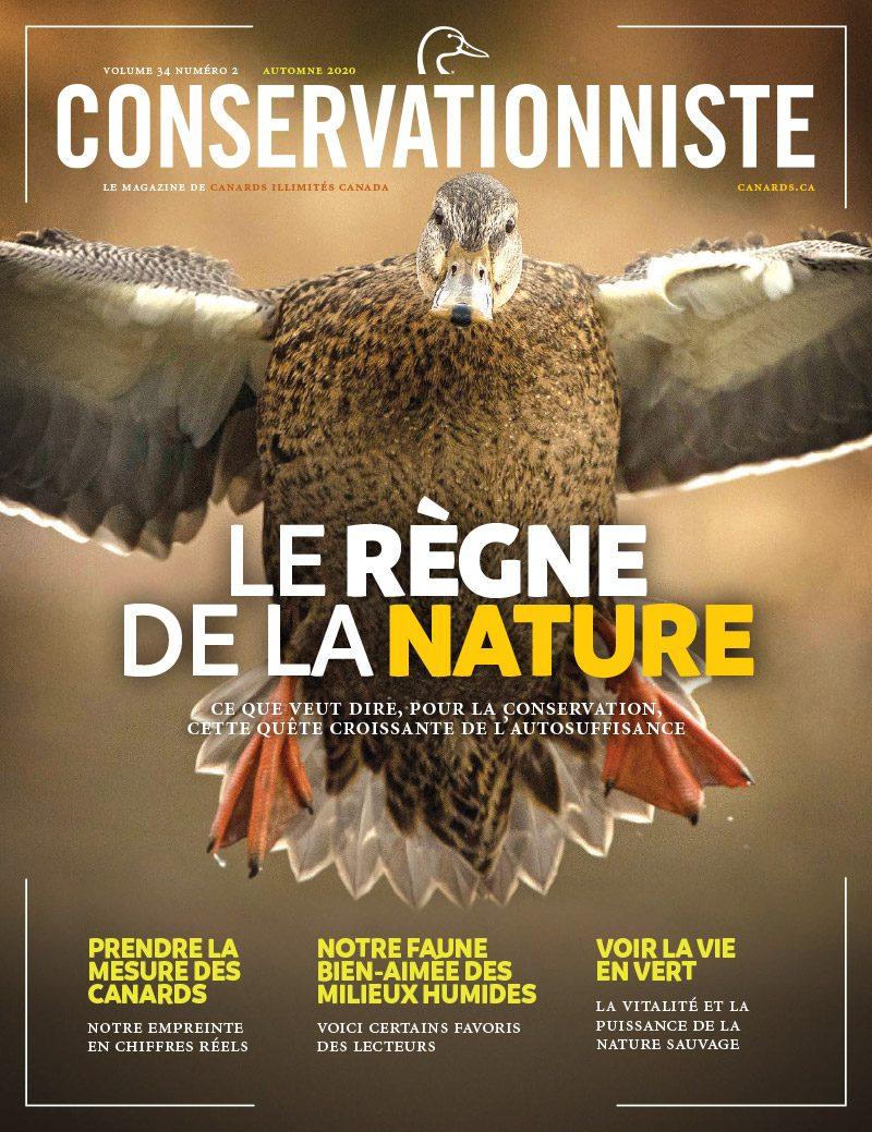 Au sommaire dans le Conservationniste