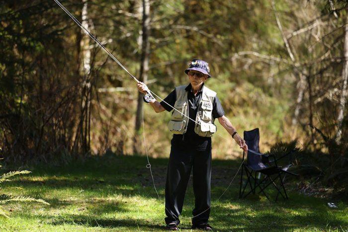 Stocky Edwards pêche
