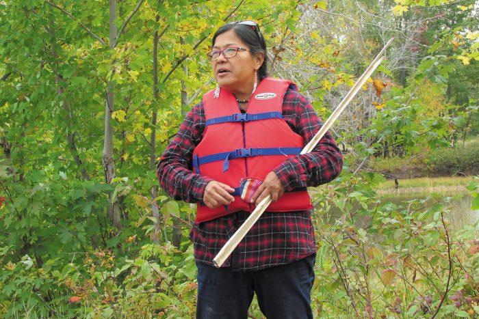 Cecelia Brooks, grand-mère de l'eau au Canadian Rivers Institute