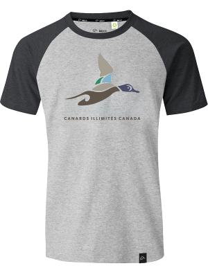 Le t-shirt unisexe ECO Soft de Canards Illimités